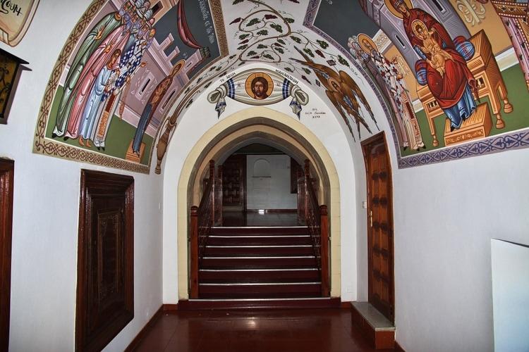 Inside kykkos monastery