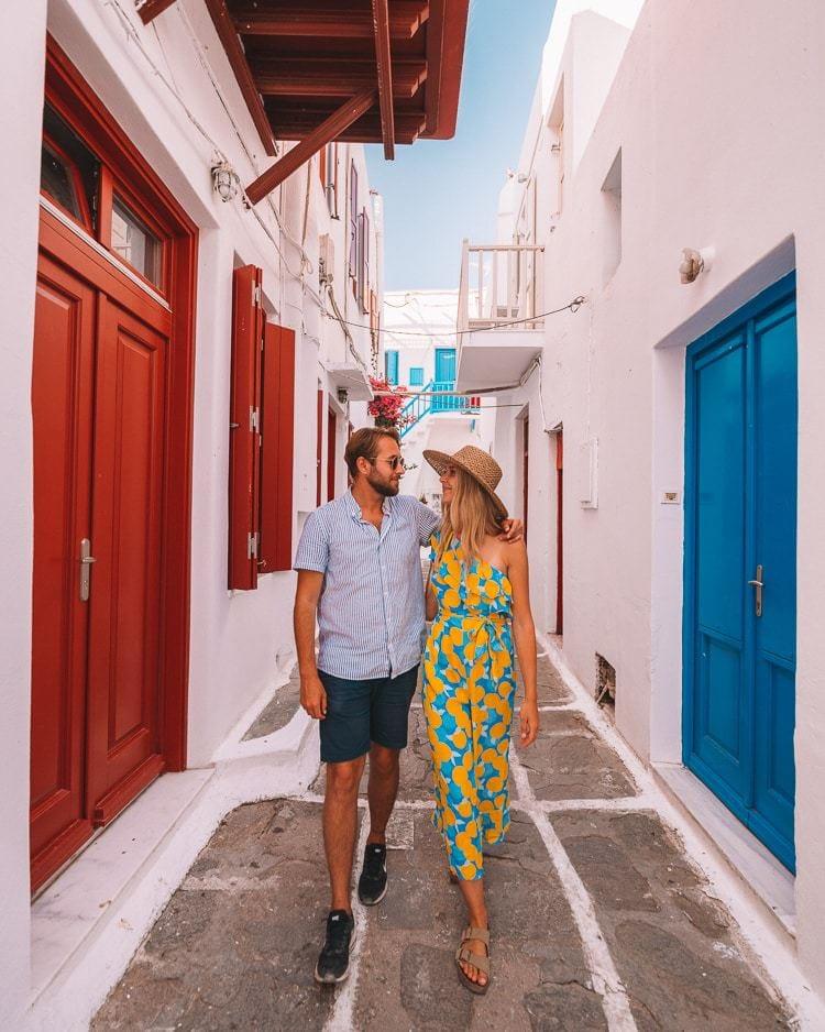 Instagram locations in Mykonos