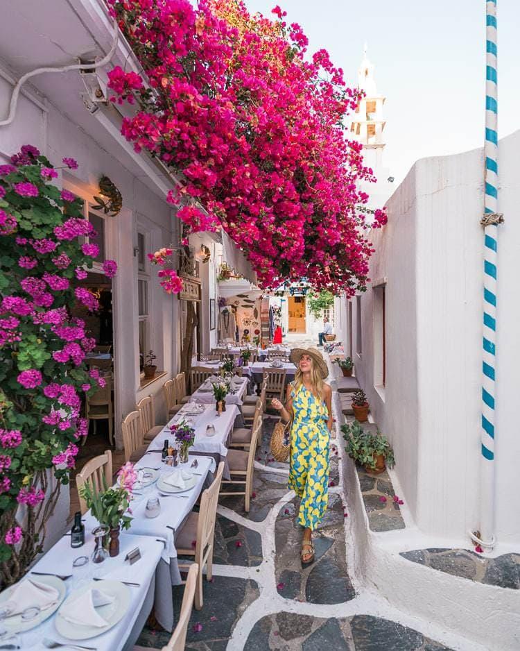 Instagram spots in Mykonos