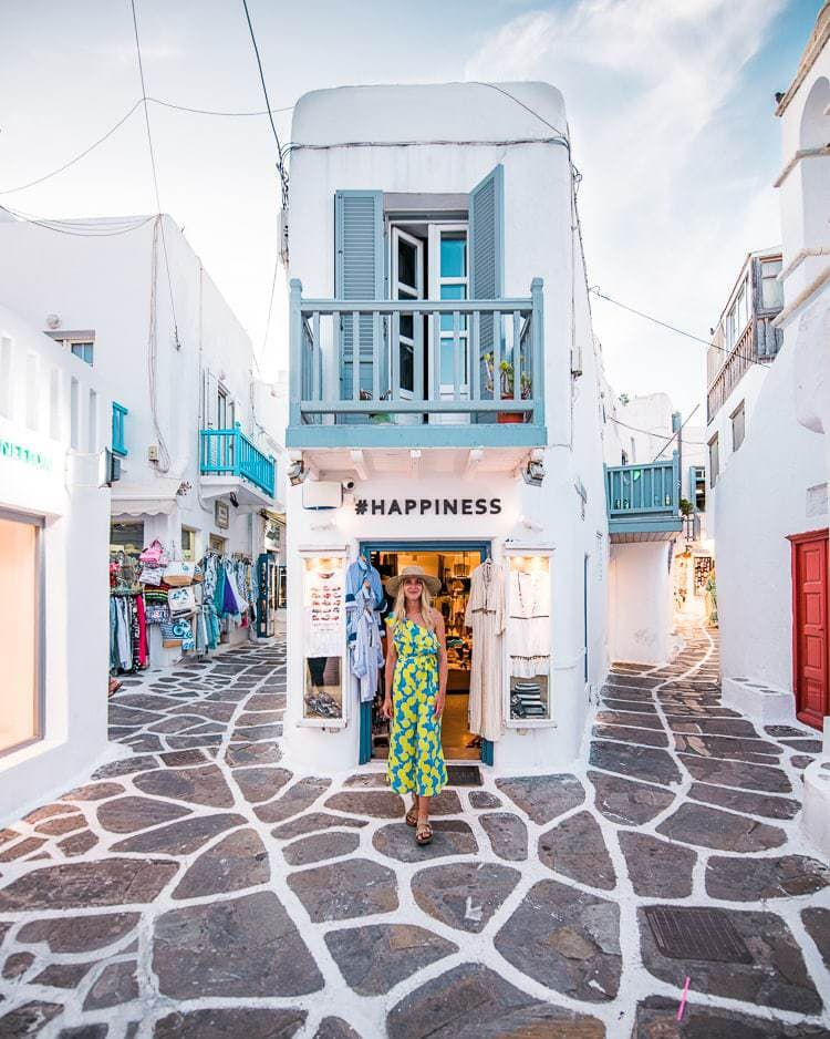 Instagram worthy places in Mykonos