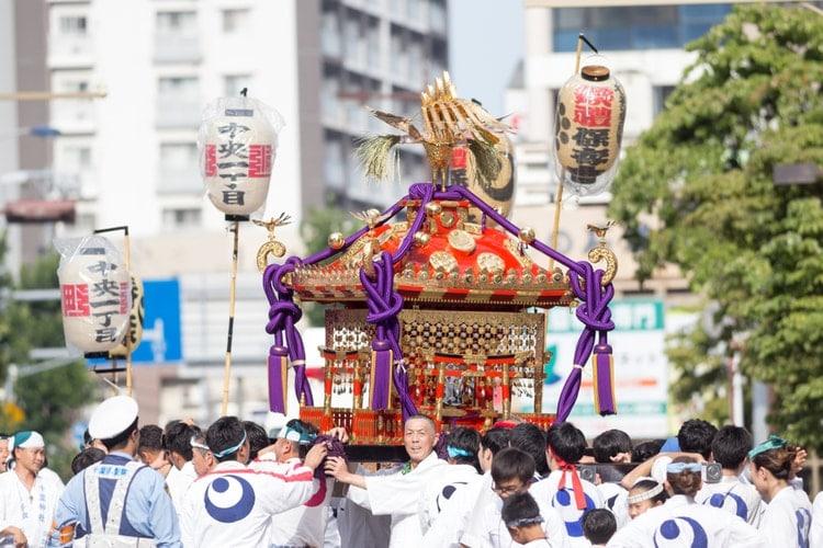 Japanese Shinto Festival