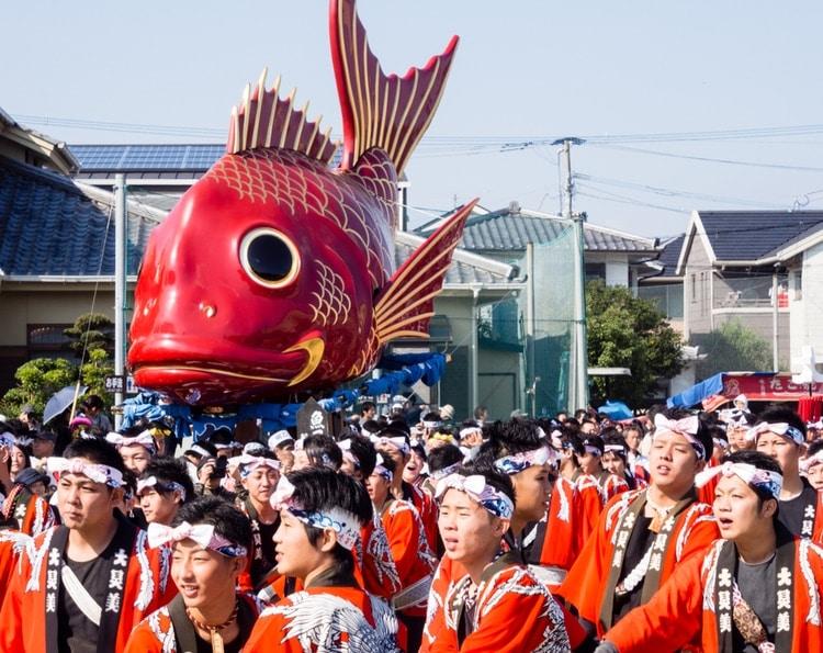Japanese Festival Karatsu Kunchi