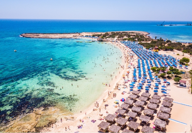 Makronissos Beach in Ayia Napa – How to get there and more info
