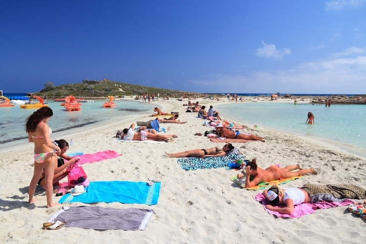Nissi Beach in Ayia Napa