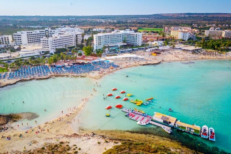 Nissi Beach på Cypern