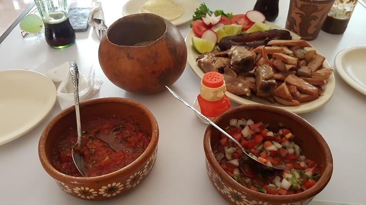 Lokal mexikansk mat