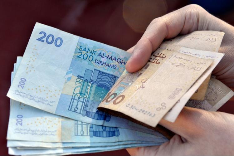 Moneda en Marruecos