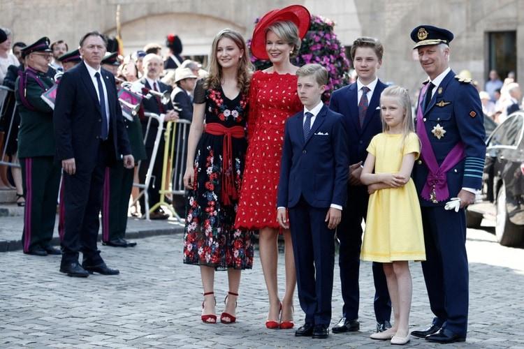 Belgiens kungafamilj