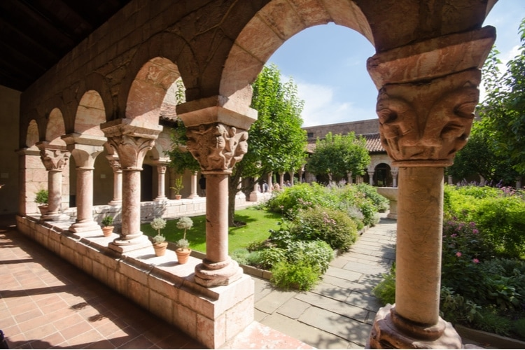 the Cloisters museum in New York