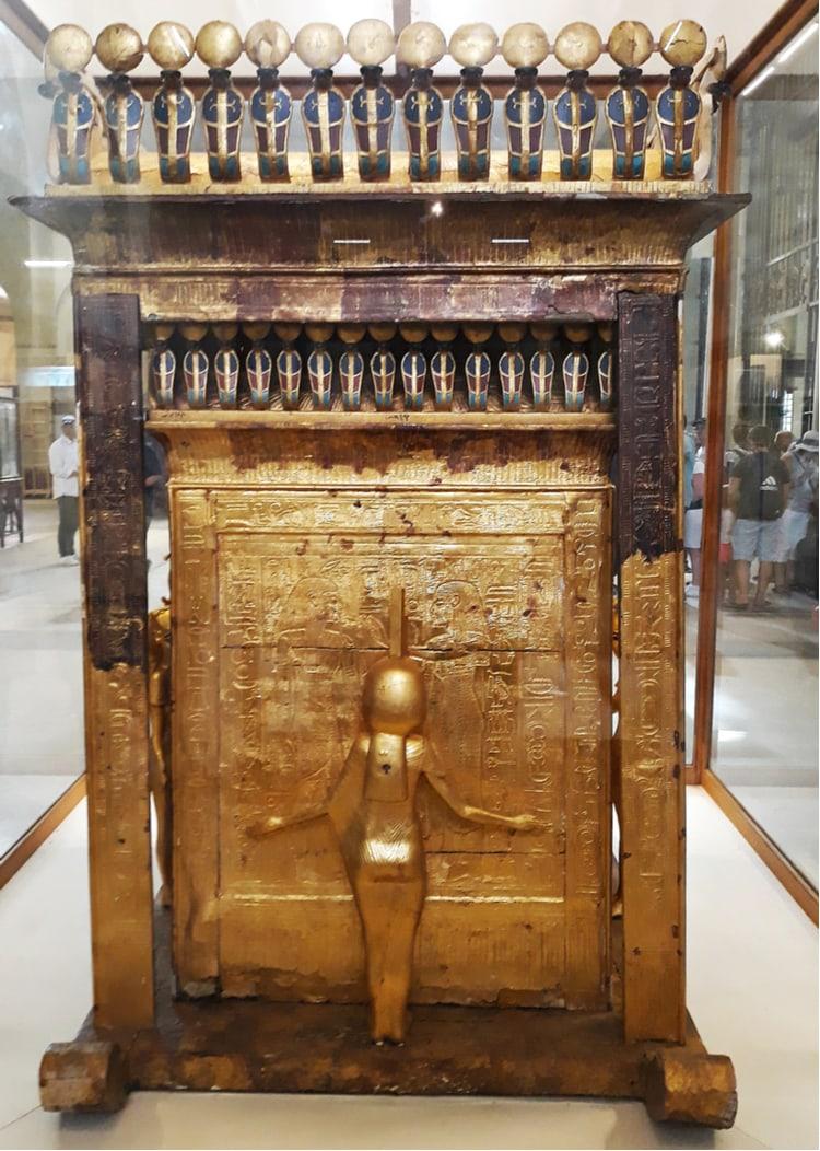 Objekt från Tutankhamuns grav