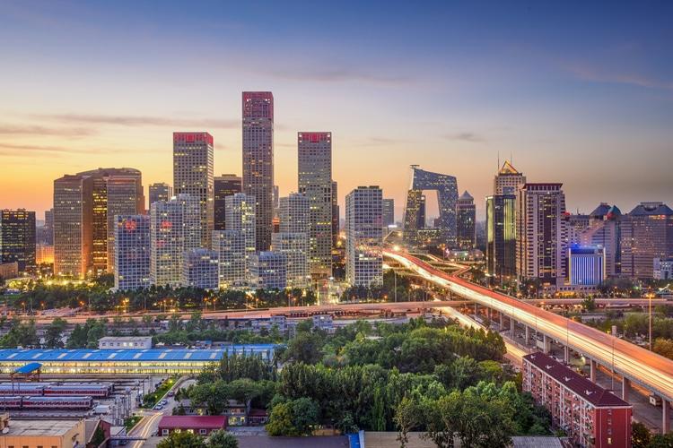 Peking är en av Kinas största städer