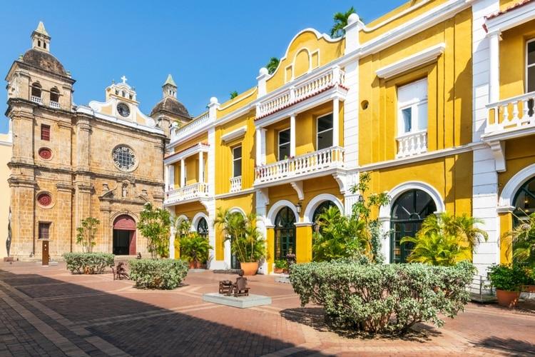 Cartagena i Colombia