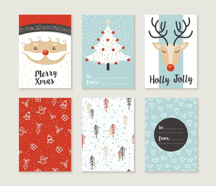 Facts about christmas cards