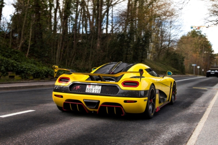 Fastest car in the world on a public road