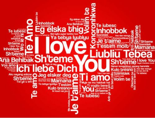 Hur man säger jag älskar dig på olika språk