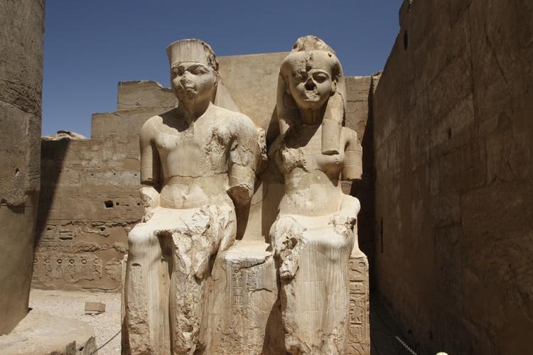 King Tut och Ankhesenamun