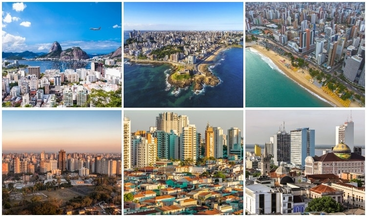 Largest cities in Brazil