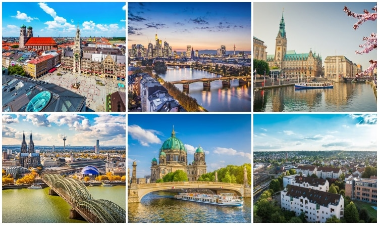 Largest cities in Germany