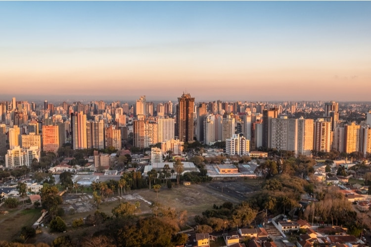 One of the largest cities in Brazil