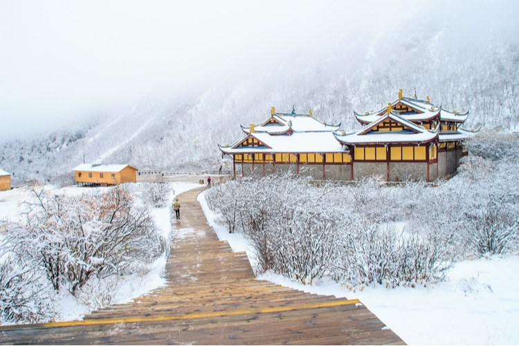 Winter in China