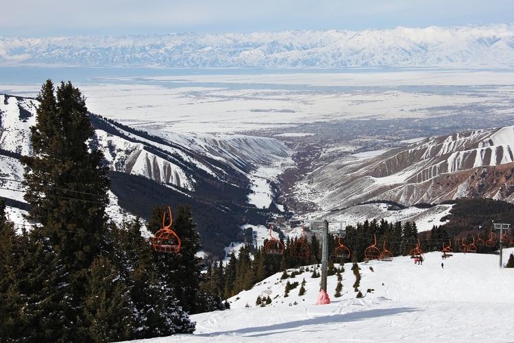 Invierno en Kirguizistán