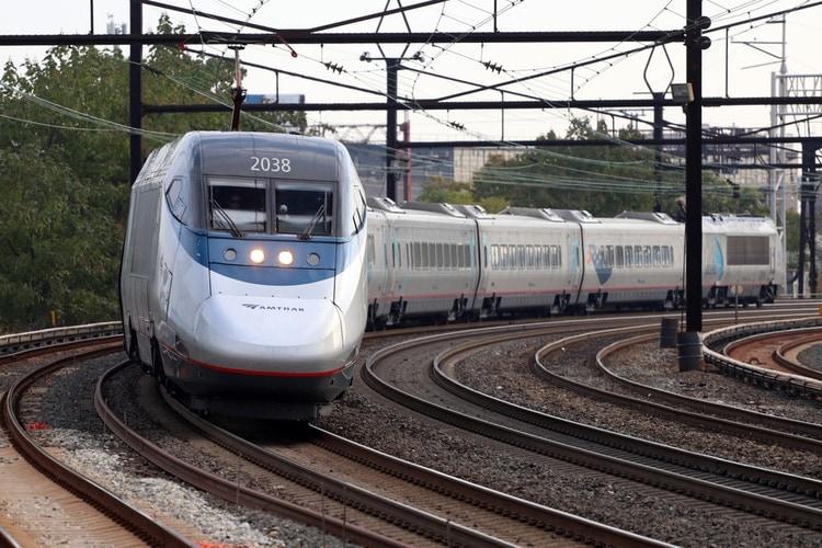 USA:s snabbaste tåg