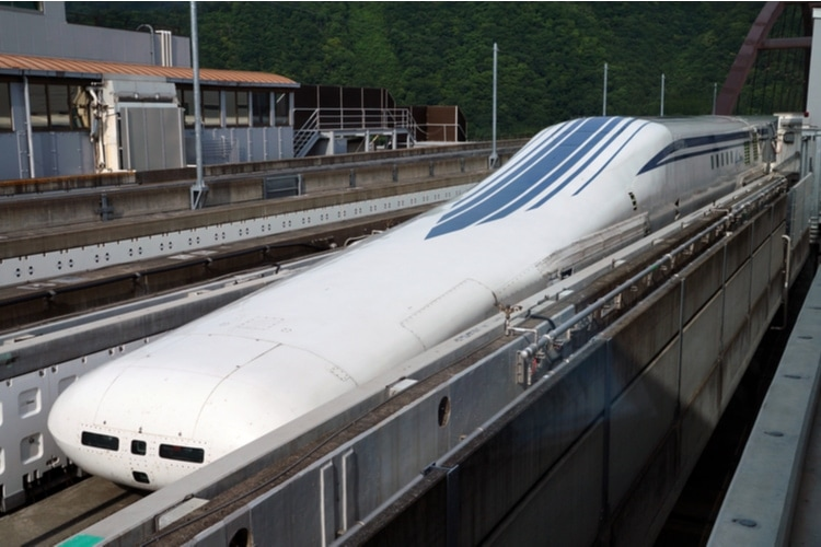 fastest train in the world in the future