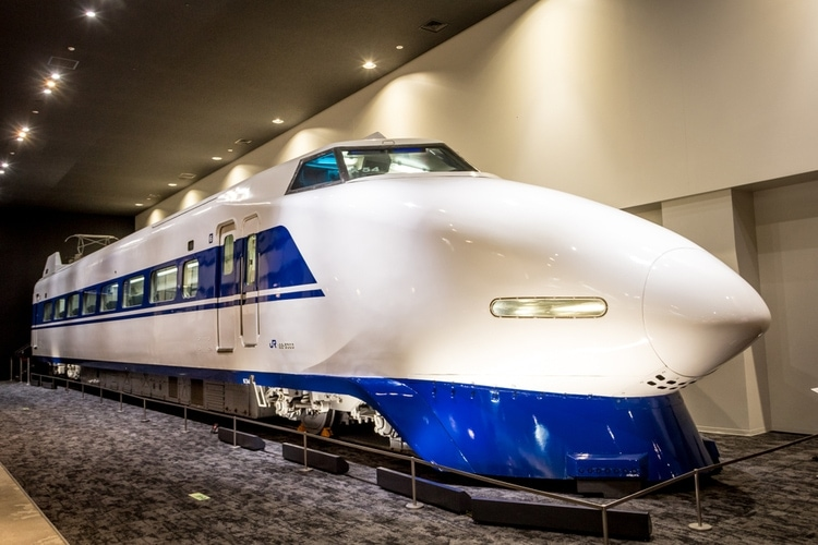 first high-speed train in the world