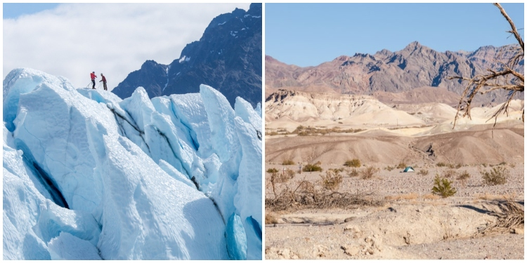 hottest country in the world vs coldest country in the world