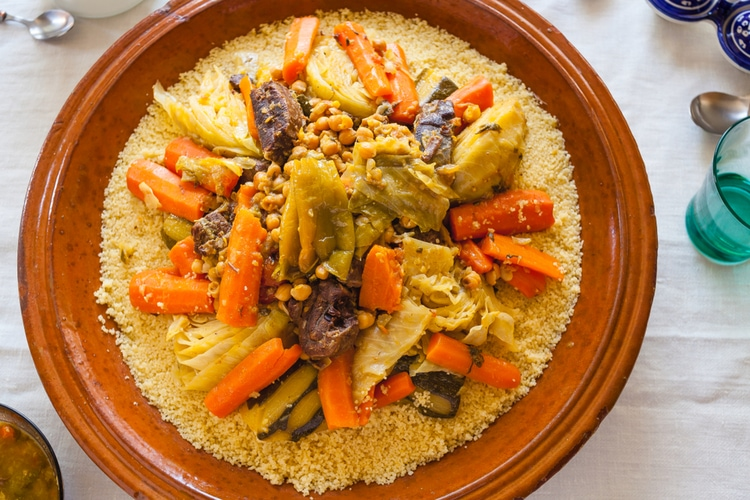 Couscous in Morocco