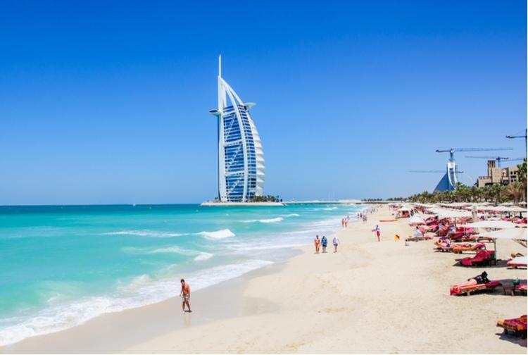 Dubai winter