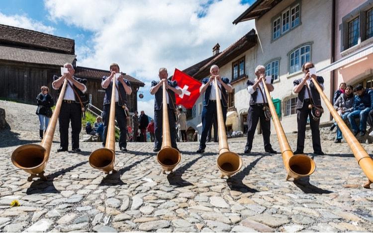 Roliga fakta om Schweiz