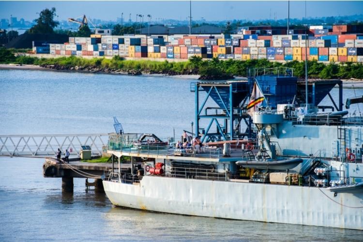 Gabon port