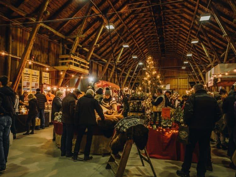 Hässleholmsgårdens julmarknad i skåne