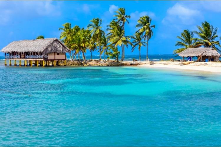 San Bias Islands in January