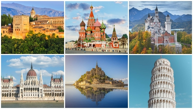 Landmarks in Europe