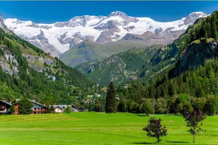 Schweiziskt berg