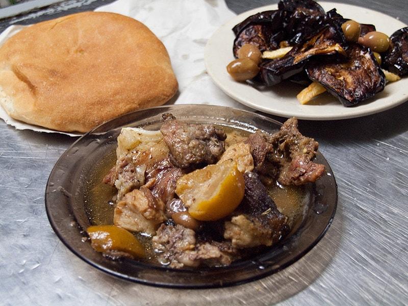 Tanjia moroccan food