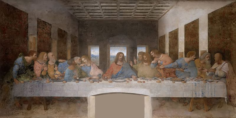 The Last Supper by Da Vinci facts