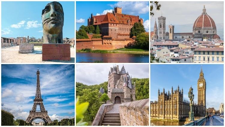 Other European landmarks