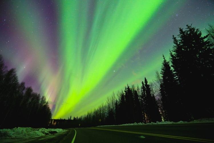 Norrsken i Alaska