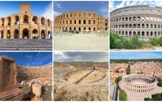 kanda romerska amfiteatrar