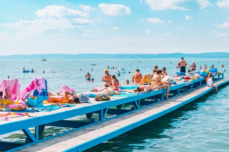 Balatonsjön semester