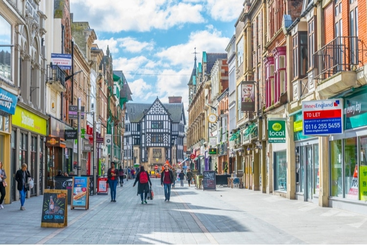 Beautiful cities in England