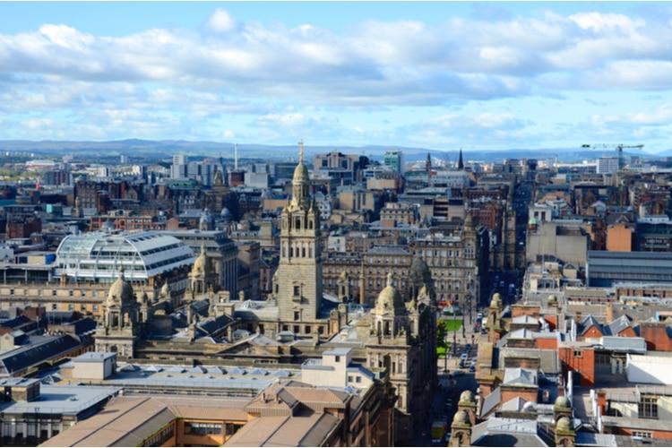 Största staden i Skottland