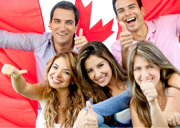 Canada is a happy country