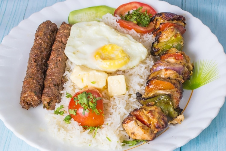 Chelow Kabab
