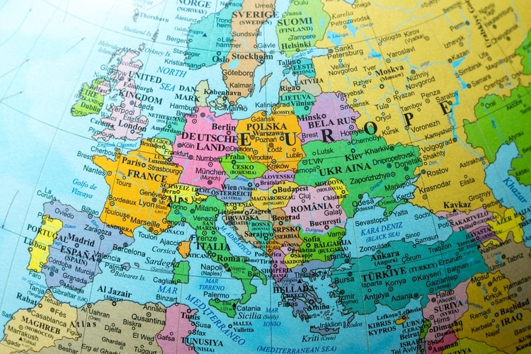 List of the Largest countries in Europe