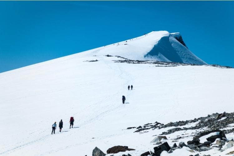Glittertinden - The second tallest mountain in Norway