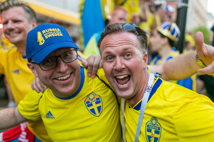 Happy Swedes